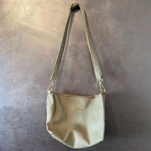 Bebe beige shoulder bag purse